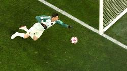 Von TV-Experte Oliver Kahn zum besten Torhüter der WM erhoben: Belgiens Torwart Thibaut Courtois