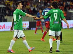 Aimar entrenará a Messi de forma interina. (Foto: Getty)