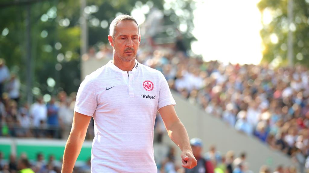 Adi Hütter hat mit Eintracht Frankfurt eine starke Gruppe in der Europa League erwischt