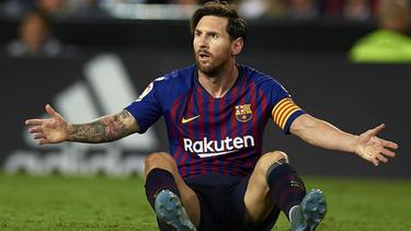 Für Lionel Messi und den FC Barcelona läuft die Saison noch nicht nach Plan