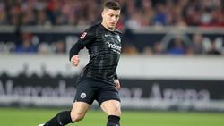 Luka Jovic hat in der Bundesliga auf sich aufmerksam gemacht