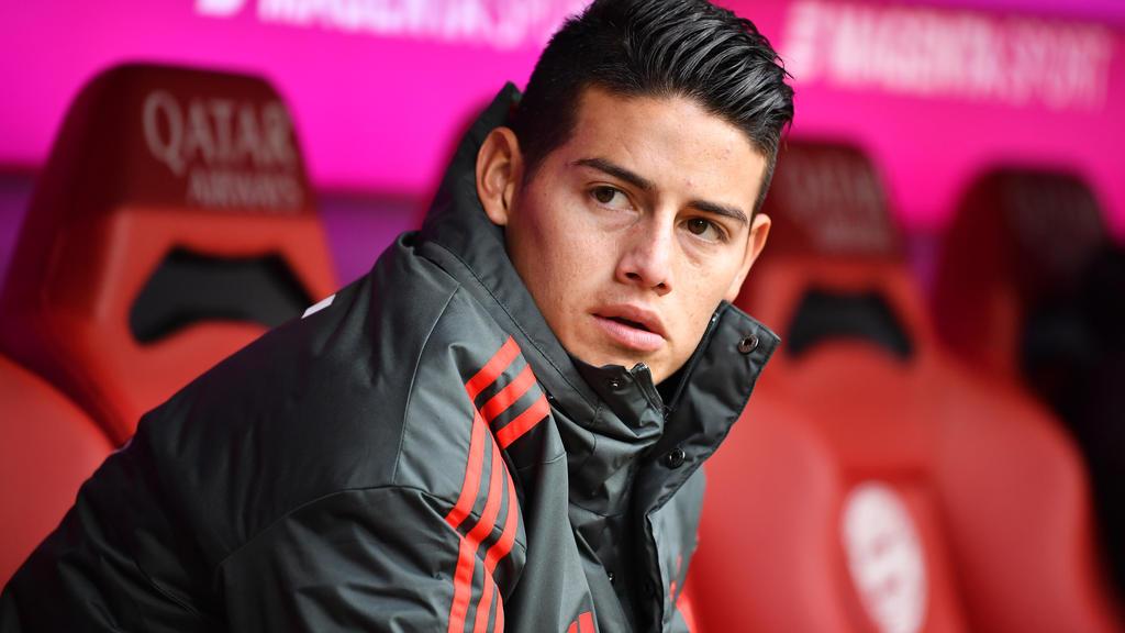 James Rodríguez spielt seit Sommer 2017 für den FC Bayern
