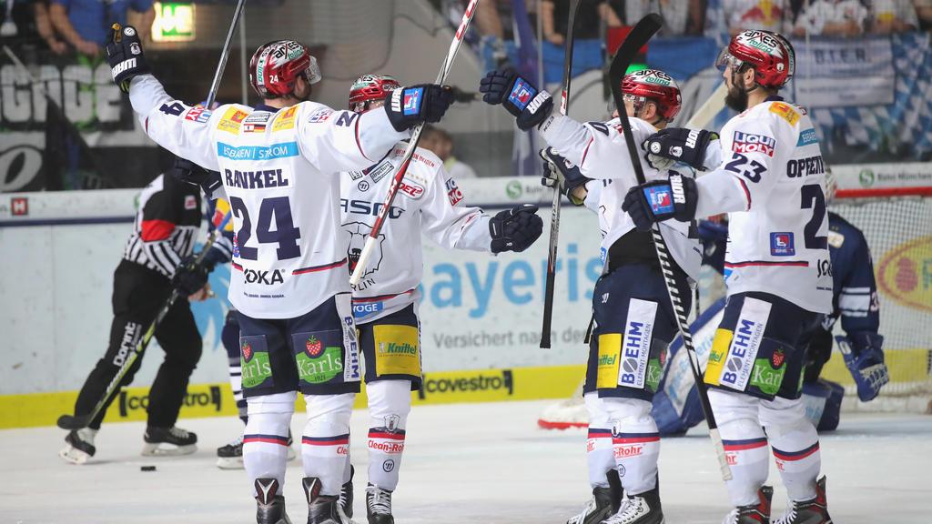 Die Eisbären ließen München nicht den Hauch einer Chance