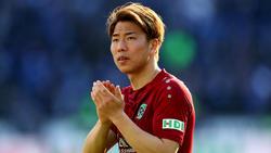 Takuma Asano konnte bei Hannover 96 nicht überzeugen