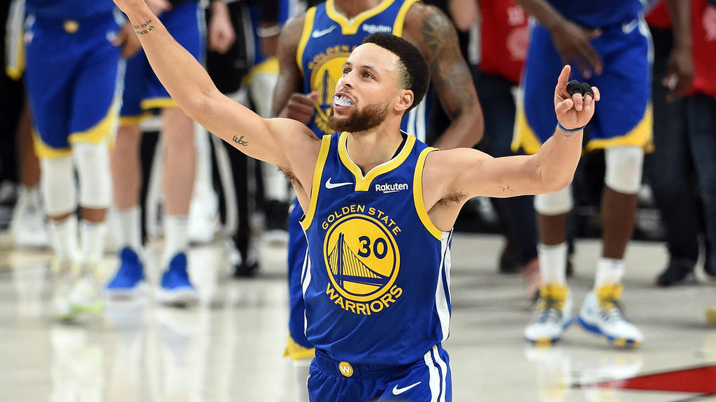 Stephen Curry steht mit Golden State einmal mehr im Finale