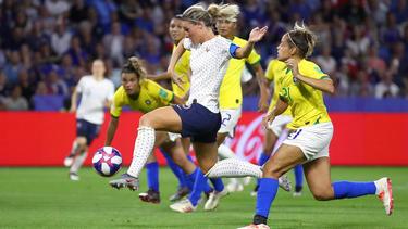 Henry erzielte den entscheidenden Treffer für Frankreich in der Verlängerung