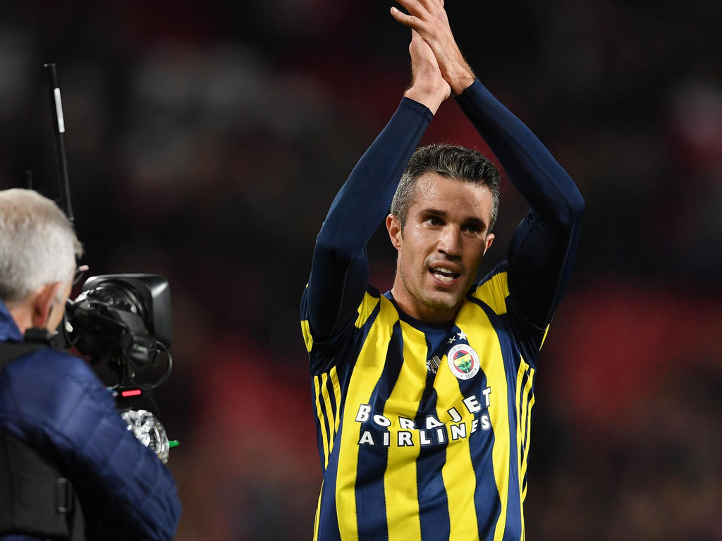 Image result for Dutch football veteran Robin van Persie completed his move to Dutch club Feyenoord on Monday,signing an 18-month deal.