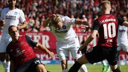 Der 1. FC Nürnberg tritt in der 2. Bundesliga weiter auf der Stelle