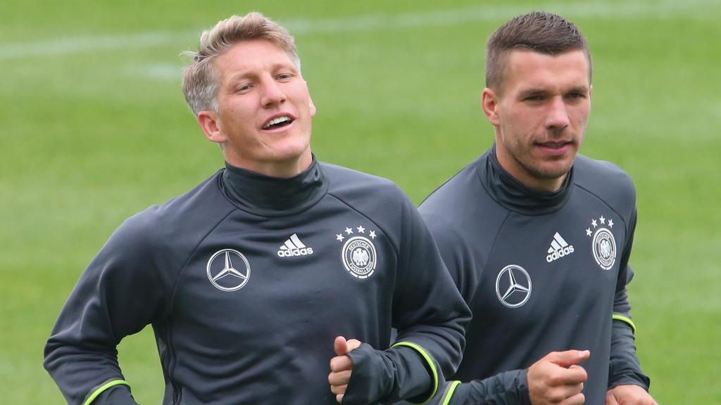 Mehr als nur Teamkollegen: Bastian Schweinsteiger und Lukas Podolski