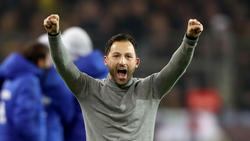 Der frühere FC-Schalke-Coach Domenico Tedesco schwärmt über seine Erfahrungen im Revierderby