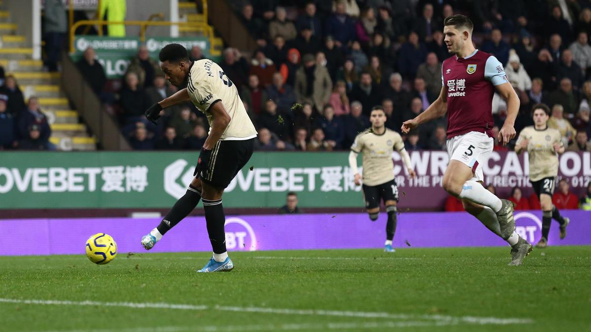 Anthony Martial erzielte das Führungstor für Manchester United