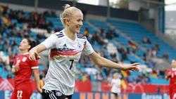 Vier Tore in einer Halbzeit für Lea Schüller