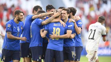 Italien jubelt über Platz drei