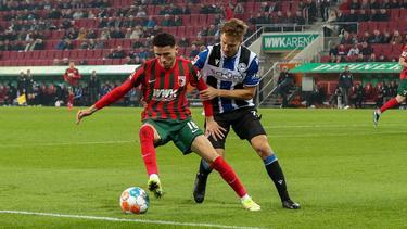 Der FC Augsburg und Arminia Bielefeld teilen die Punkte