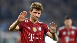 Thomas Müller war nach der Niederlage des FC Bayern enttäuscht