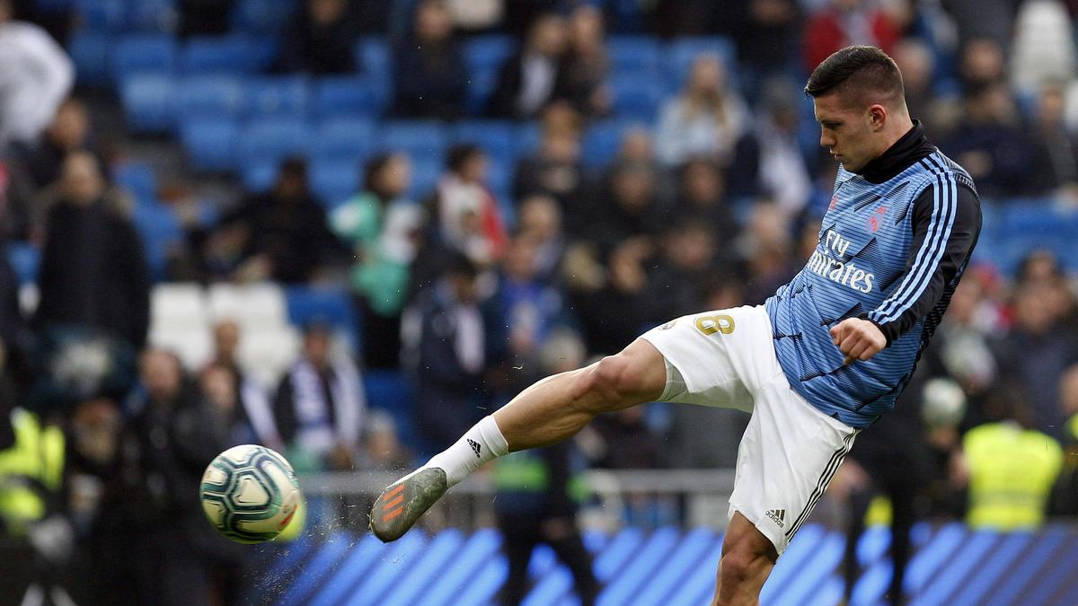 Luka Jovic wechselte im Sommer von Eintracht Frankfurt für 60 Millionen Euro zu Real Madrid