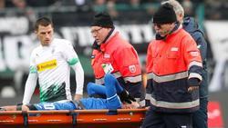 Munas Dabbur wurde in Gladbach verletzt vom Platz getragen
