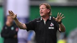 Markus Gisdol steht vor einer Verlängerung beim 1. FC Köln