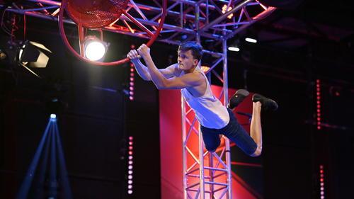 Leon Wismann hat es bei Ninja Warrior Germany locker ins Finale geschafft