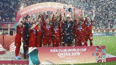Der FC Bayern gewann die Klub-WM im letzten Jahr