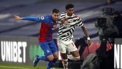 Crystal Palace und Manchester United trennten sich unentschieden