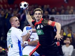Rune Dahmke gegen Slowenien - EURO 2016