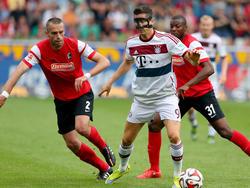 Lewandowski in der Zange