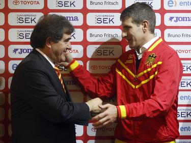 Martín Palermo, técnico de Unión Española. (Foto: Imago)