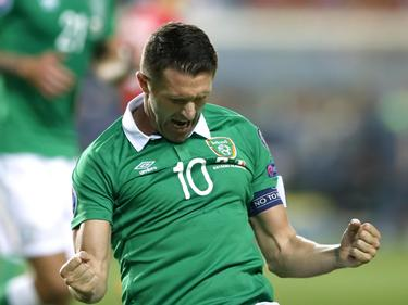 Robbie Keane verabschiedete sich aus dem irischen Nationalteam
