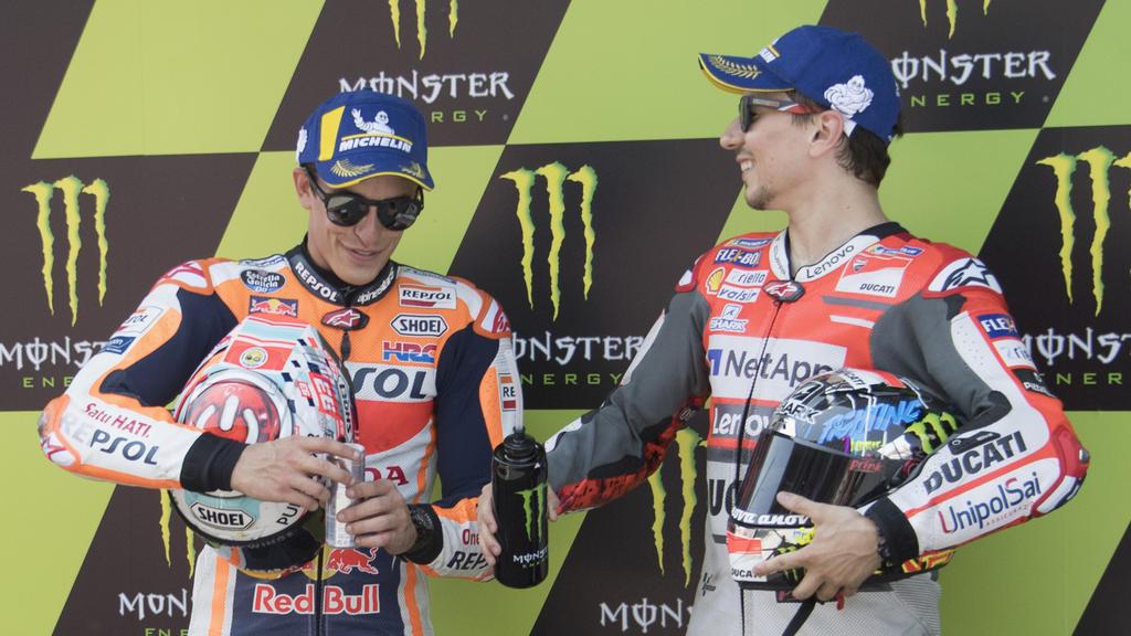 Marc Márquez und Jorge Lorenzo fahren künftig gemeinsam für Honda