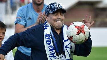 Von Weißrussland nach Mexiko: Diego Maradona