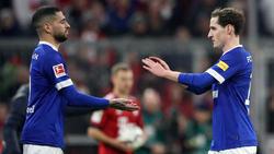 Zweit Streichkandidaten des FC Schalke 04: Omar Mascarell (l.) und Sebastian Rudy