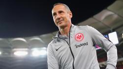 Trainer Adi Hütter sorgt mit Eintracht Frankfurt national und international für Furore