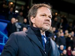 Henk de Jong ziet het met lede ogen aan: De Graafschap verliest ook de tweede wedstrijd onder zijn leiding. Tegen FC Den Bosch wordt het 0-3. (20-01-2017)