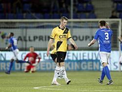 Jari Oosterwijk baalt stevig als FC Den Bosch op een 2-0 voorsprong komt tegen zijn nieuwe werkgever NAC Breda. (03-02-2017)