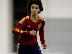 """Marc """"Cucu"""" Cucurella vom FC Barcelona steht beim BVB hoch im Kurs"""