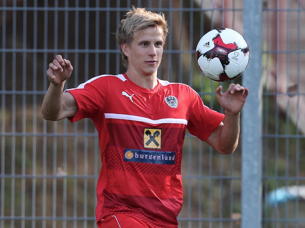 Moritz Bauer durfte noch unter Marcel Koller im ÖFB-Team debütieren