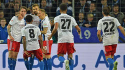 Der HSV rettete mit einem Remis gegen Arminia Bielefeld die Tabellenführung