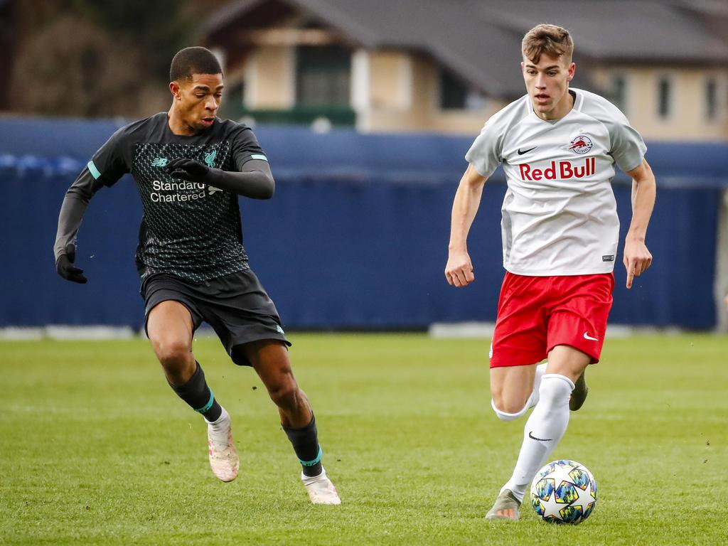 Salzburgs U19 verlor auch das Rückspiel gegen Liverpool