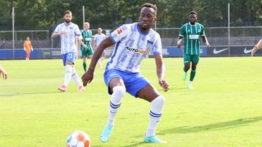 Dodi Lukebakio konnte als Mittelstürmer von Hertha BSC nicht überzeugen