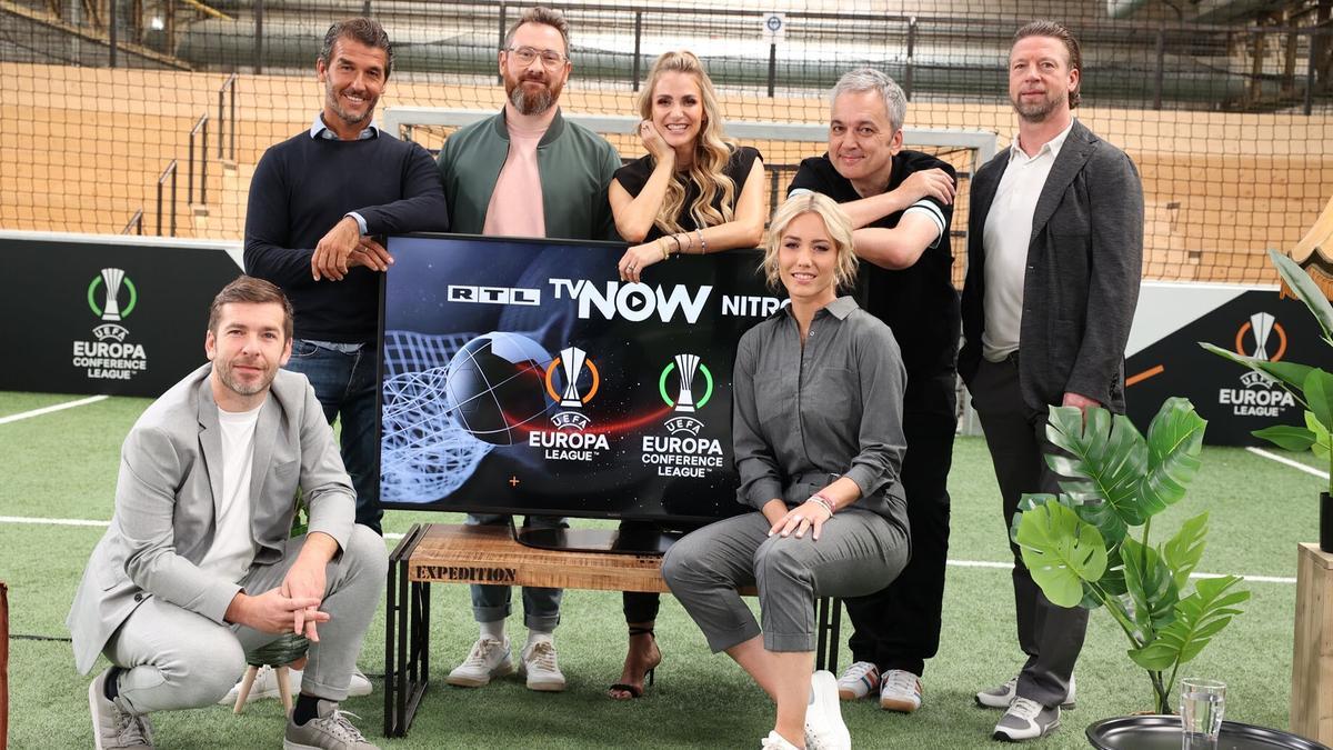 Die Europa und Conference League gibt es live bei TVNOW, RTL & NITRO