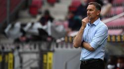 Mainz-Trainer Achim Beierlorzer ist nach dem Spiel bedient