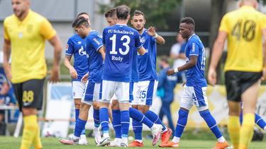 FC Schalke 04 gewinnt Testspiel gegen Saloniki