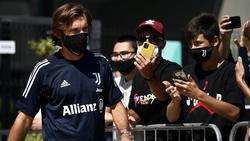 Alle Augen sind auf Juve-Trainer Andrea Pirlo gerichtet