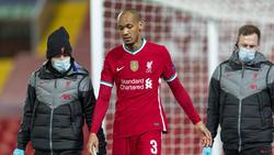 Fabinho verletzte sich beim Champions-League-Duell