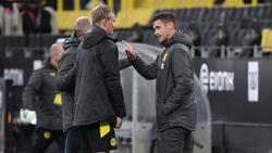 Erling Haaland (l.) wird dem BVB laut Sebastian Kehl (r.) noch einige Wochen fehlen