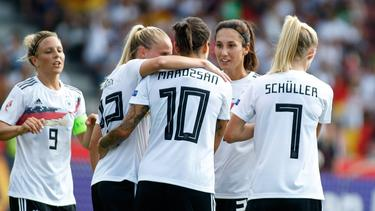 Die DFB-Frauen peilen die perfekte EM-Qualifikation an