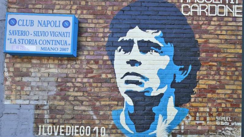 Diego Maradona könnte in Argentinien bald eine Banknote schmücken