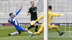 Für Fürth reichte es gegen Darmstadt nur zum 2:2
