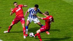 Hertha BSC hat gegen den 1. FC Köln den Klassenerhalt perfekt gemacht